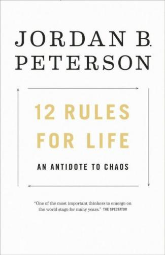 Книга 12 правил жизни: противоядие от хаоса (12 rules for life: an antidote to chaos) на английском