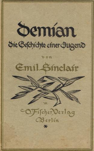 Книга Демиан (Demian) на немецком
