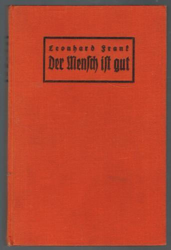 Книга Человек добр (Der Mensch ist gut) на немецком