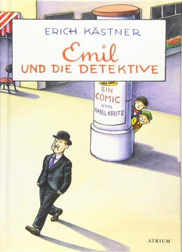 Книга Эмиль и сыщики (Emil und die Detektive) на немецком