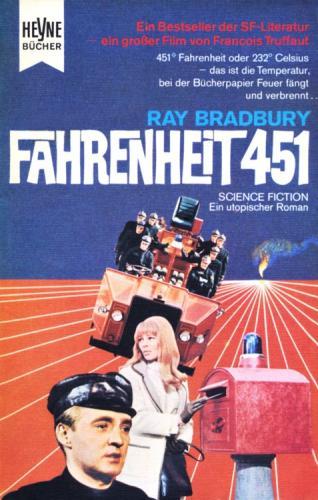 Книга 451 градус по Фаренгейту (Fahrenheit 451) на немецком