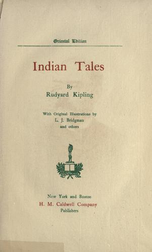 Book Indian Tales (Indian Tales) in English