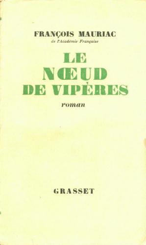 Книга Клубок змей (Le Nœud de vipères) на французском