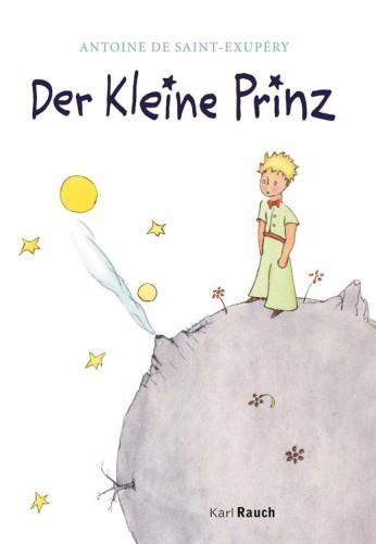 Книга Маленький принц (Le Petit Prince) на немецком