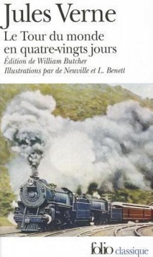 Книга Вокруг света за 80 дней (Le Tour Du Monde En Quatrevingts Jours) на французском