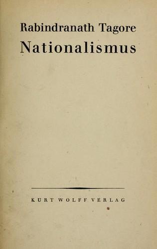 Книга Национализм (Nationalismus) на немецком