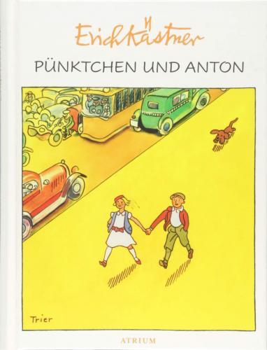 Книга Кнопка и Антон (Pünktchen und Anton) на немецком