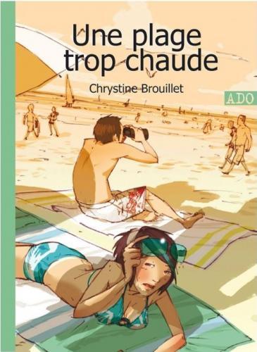 Книга Une Plage Trop Chaude (Une Plage Trop Chaude) на французском