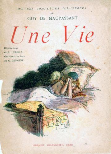 Книга Жизнь (Une vie) на французском