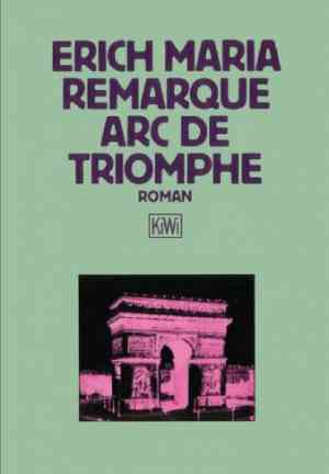 Book Arch of Triumph (Arc de Triomphe) in German