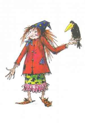 Книга Маленькая ведьма (Die kleine Hexe) на немецком