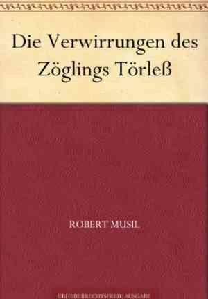 Book The Confusions of Young Törless (Die Verwirrungen des Zöglings Törleß) in German