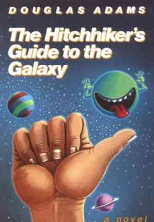 Книга Автостопом по Галактике (Hitchhiker's Guide to the Galaxy) на английском