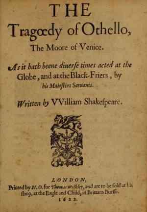 Книга Отелло, венецианский мавр (Othello) на французском