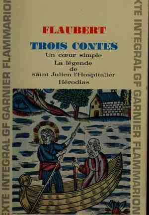 Book Three Tales (Trois contes) in French